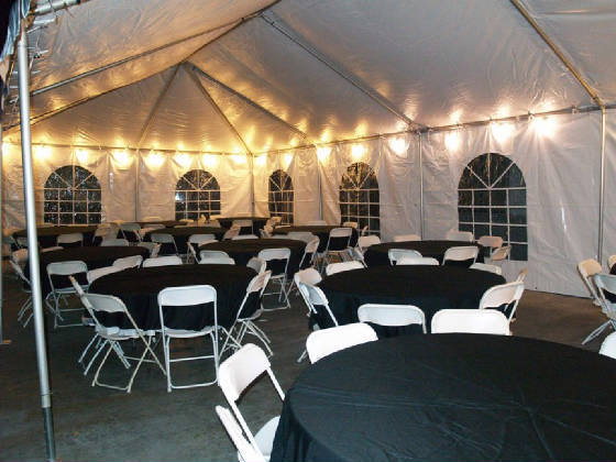 20u0027 x 40u0027 high top Tent & VMA Party Rentals - Tables Chairs Canopies For Rent!