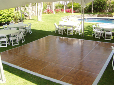 Vma party rentals tables chairs canopies for rent - Temporary flooring for renters ...